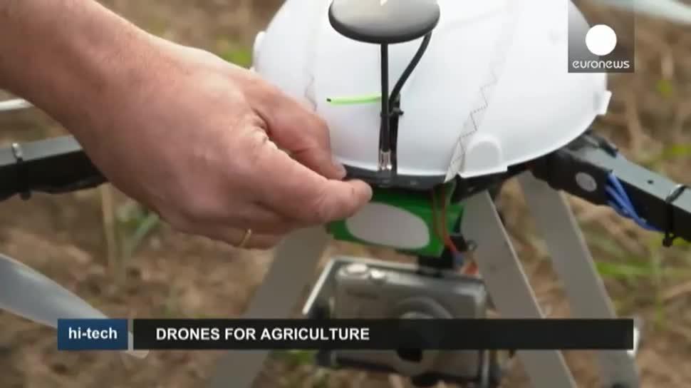 Drohnen, EuroNews, Landwirtschaft, Deutsche Landwirtschafts-Gesellschaft, DLG, Agritechnica