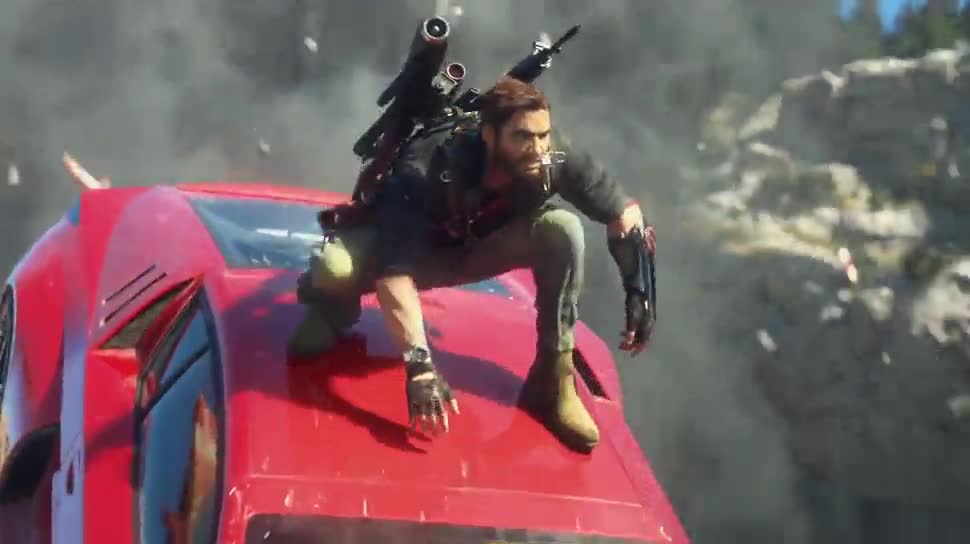Trailer, actionspiel, Square Enix, Just Cause 3, Just Cause, Kasabian