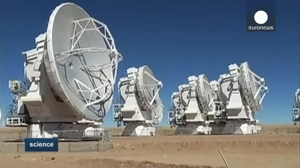 Forschung, Weltraum, EuroNews, Astronomie, Teleskop, Alma Observatory, Event Horizon Telescope