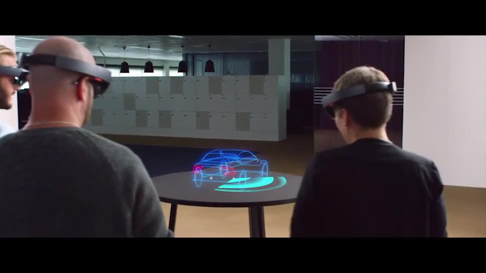 Microsoft, Augmented Reality, Auto, HoloLens, Microsoft HoloLens, Hologramm, Partnerschaft, Volvo