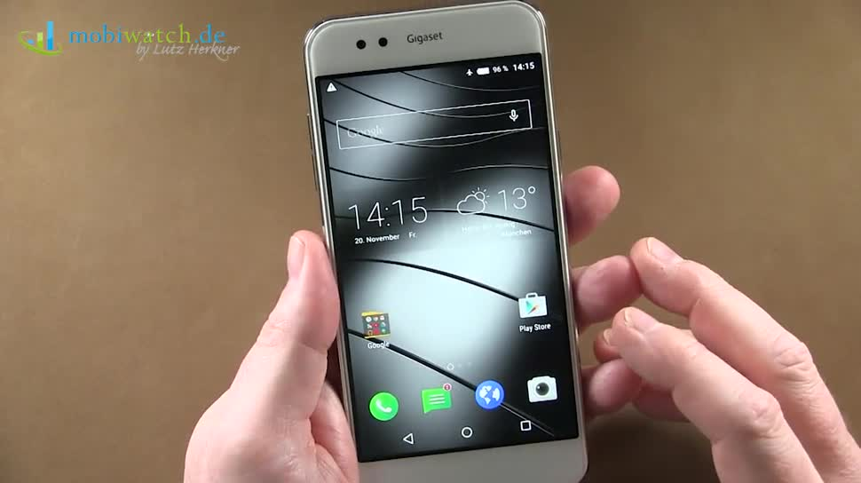 Smartphone, Android, Lutz Herkner, gigaset, Gigaset ME