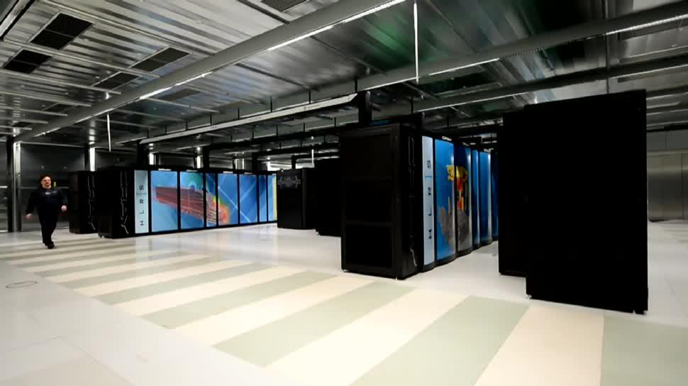 Computer, Supercomputer, Dpa, Stuttgart