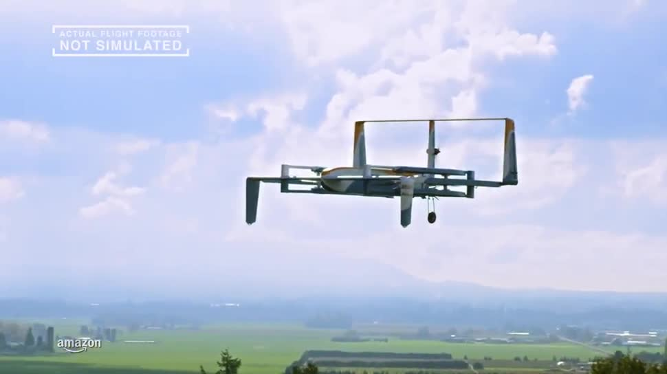 Amazon, Drohne, Prime Air, Top Gear, Jeremy Clarkson