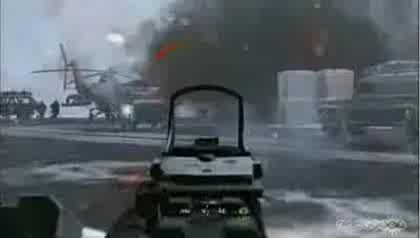 E3, Shooter, Call of Duty, Infinity Ward, Modern Warfare, Rio de Janeiro, Sibirien, Snowmobil, Live-Demo
