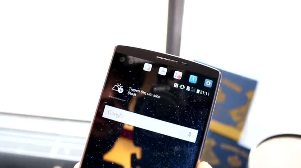 Smartphone, LG, Lte, Kamera, Test, Hands-On, Akku, Hands on, Phablet, Lollipop, Review, Hexacore, Qualcomm Snapdragon 808, Android 5.1.1, LG V10, V10, edelstahl, Zusatzdisplay
