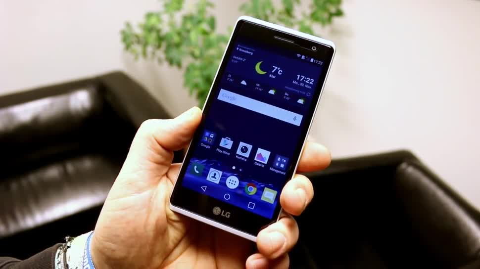 Smartphone, Lte, Test, Hands-On, Quadcore, Hands on, Lollipop, Review, metall, Aluminium, Qualcomm Snapdragon 410, Android 5.1.1, Metallgehäuse, LG Class, Alugehäuse, LG Zero, LG-H650, LG-H650E, Rear Key