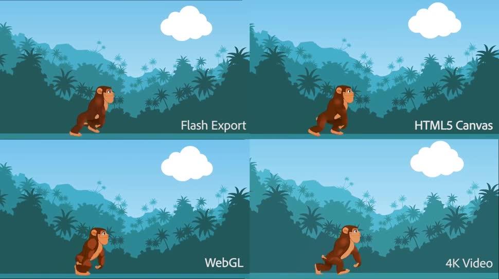 Software, Entwicklung, Adobe, Flas, Flash Professional, Adobe Animate CC