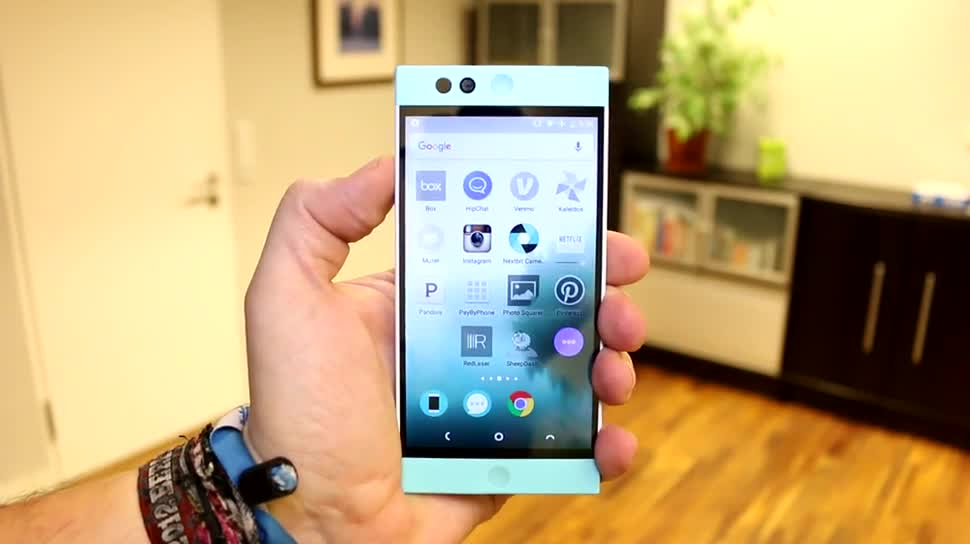 Smartphone, Htc, Cloud, Test, Hands-On, Hands on, Lollipop, Kickstarter, Review, Cloud-Speicher, Hexacore, Qualcomm Snapdragon 808, Android 5.1.1, NextBit, Robin, Nextbit Robin, Nextbit Systems, Scott Croyle