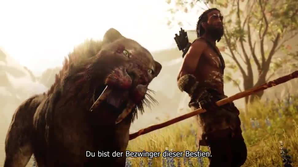 Trailer, Ubisoft, Shooter, Far Cry, Far Cry Primal, Video Game Awards, VGA 2015