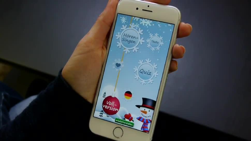 Praktische Helfer: Weihnachts-Apps für Smartphones
