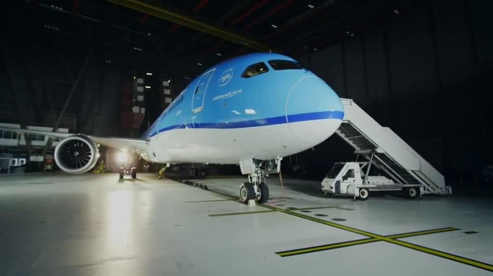 Unboxing, Boeing, Boeing 787, Dreamliner, KLM, Boeing 787 Dreamliner