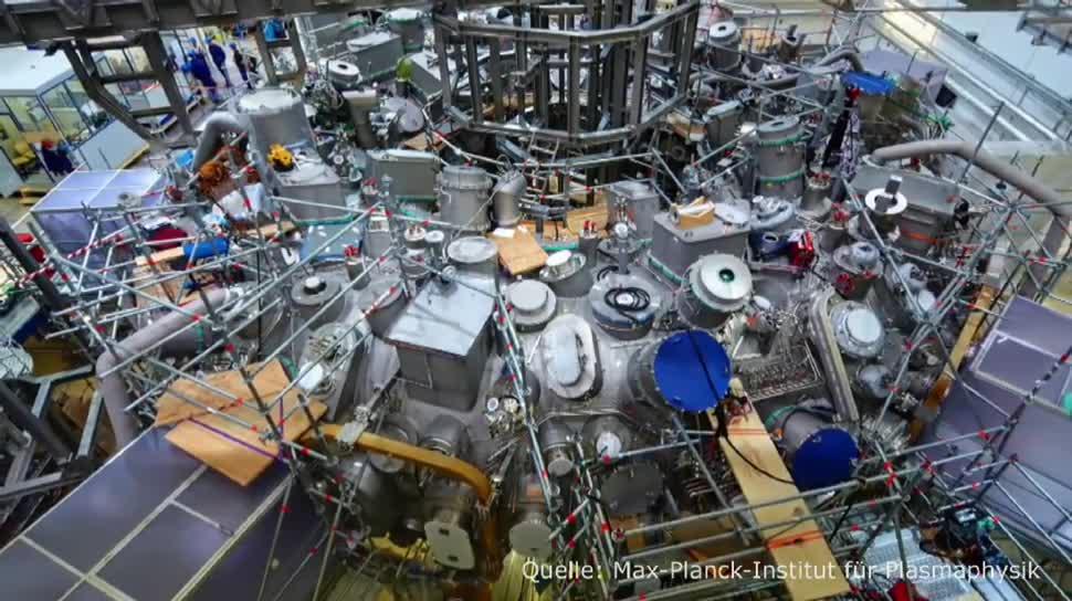 Forschung, Energie, Dpa, Energieversorgung, Max-Planck-Institut, Kernfusion, Wendelstein 7-X, Stellarator