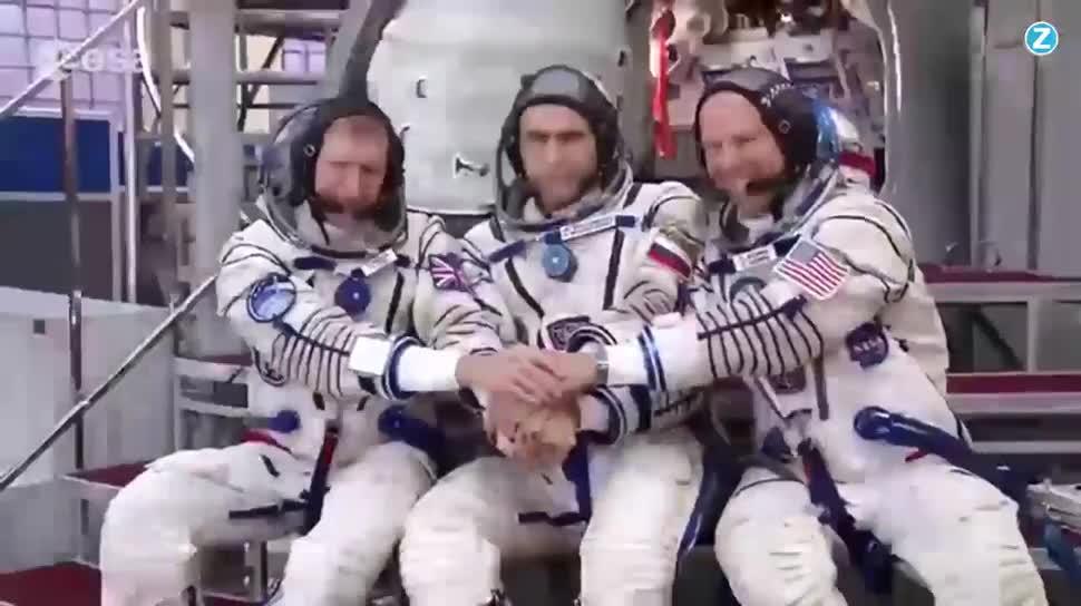 Zoomin, Weltraum, Raumfahrt, Iss, Astronaut, Tim Peake