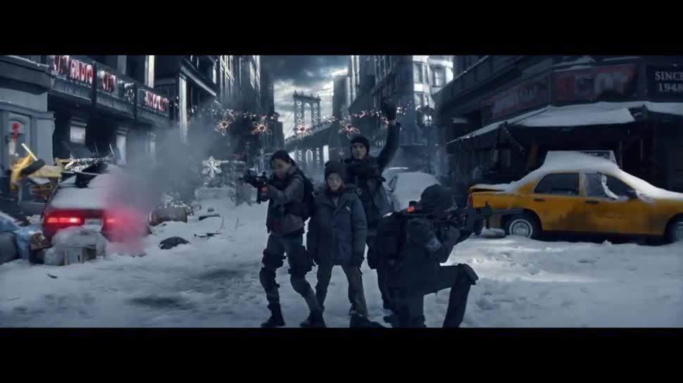 Trailer, Ubisoft, actionspiel, Weihnachten, Tom Clancy, Tom Clancy's The Division, The Division