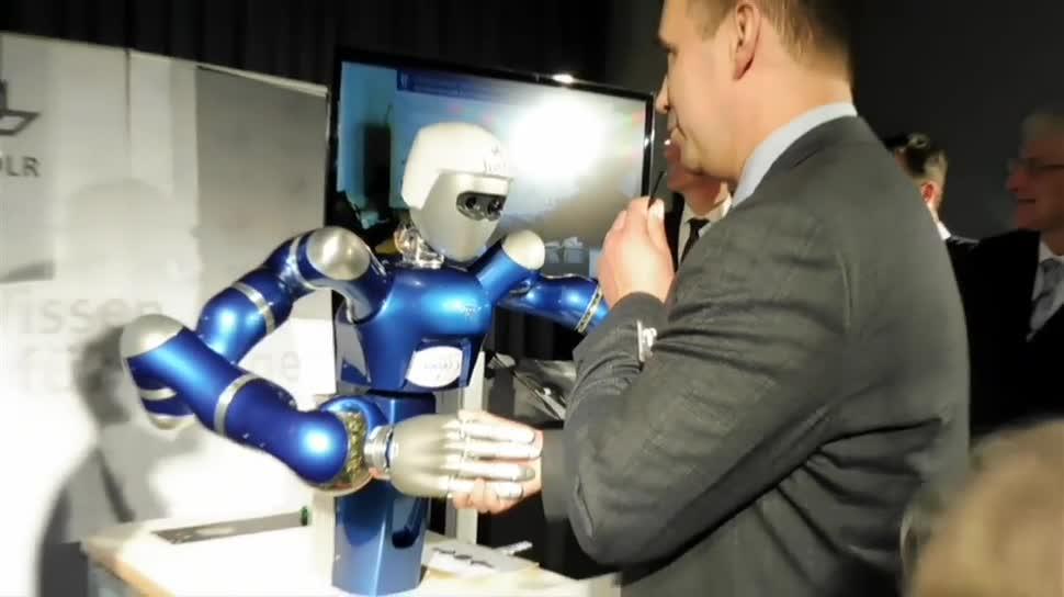 Roboter, Weltraum, Raumfahrt, Iss, Dpa, DLR, Astronaut, internationale Raumstation, Deutsches Zentrum für Luft- und Raumfahrt, SpaceJustin, Sergey Volkov