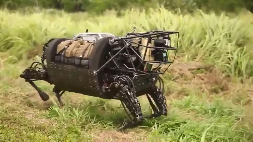 Roboter, Darpa, Boston Dynamics, Legged Squad Support System, Militärroboter, AlphaDog, LS3