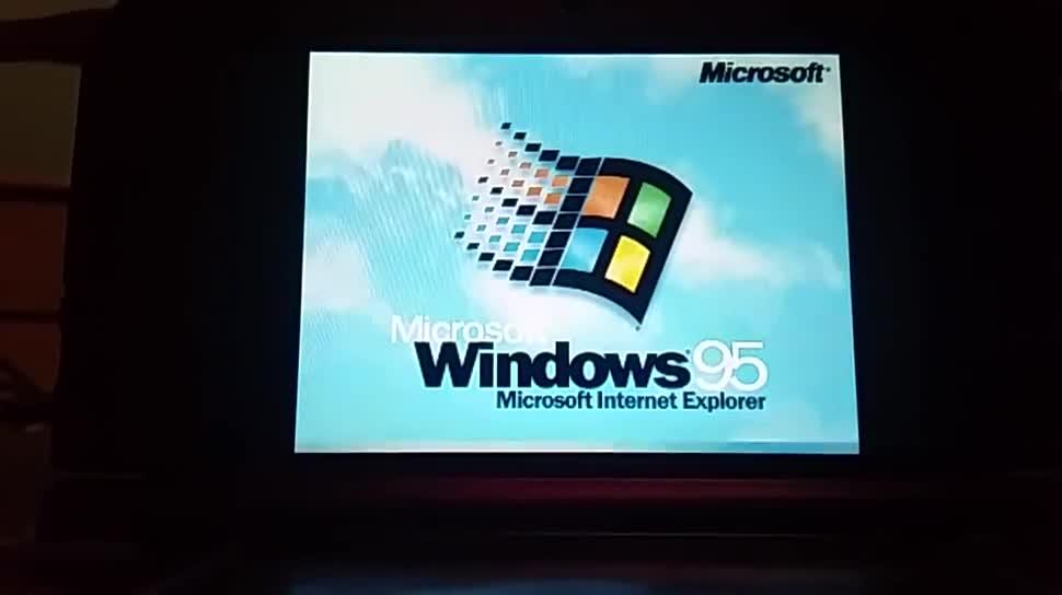 Nintendo, Hack, Handheld, Nintendo 3ds, Windows 95, Nintendo Handheld, New Nintendo 3DS