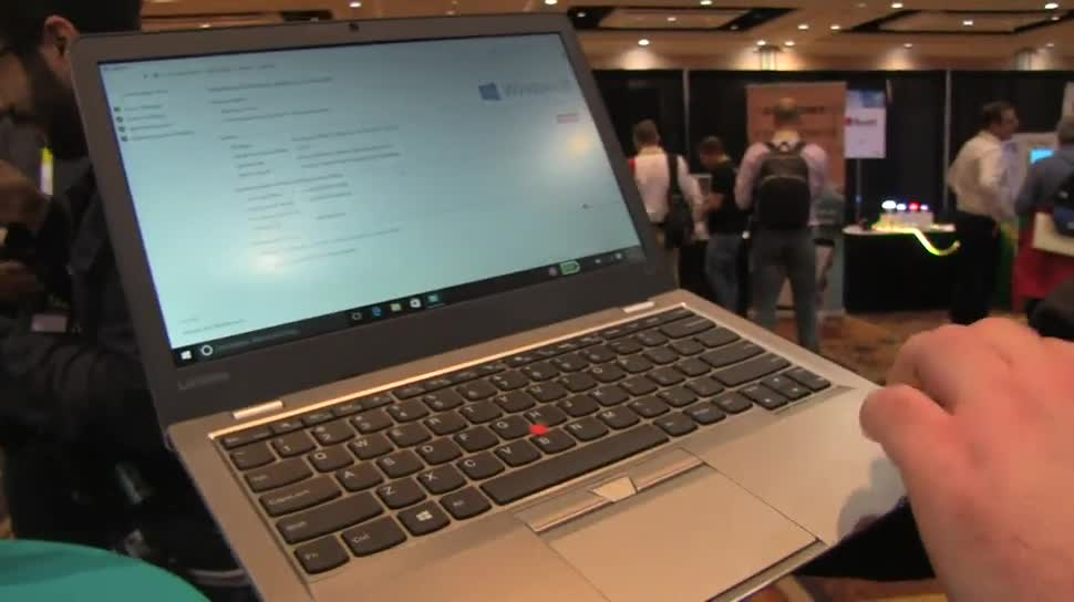 Windows 10, Notebook, Lenovo, Ces, CES 2016, ThinkPad 13