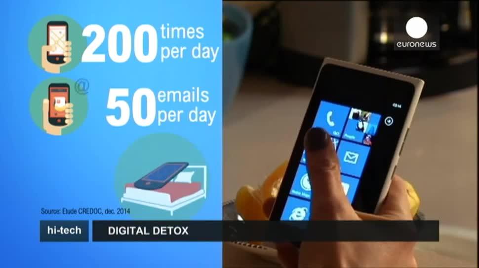Smartphone, Handy, EuroNews, Sucht, Digital-Detox-Camp