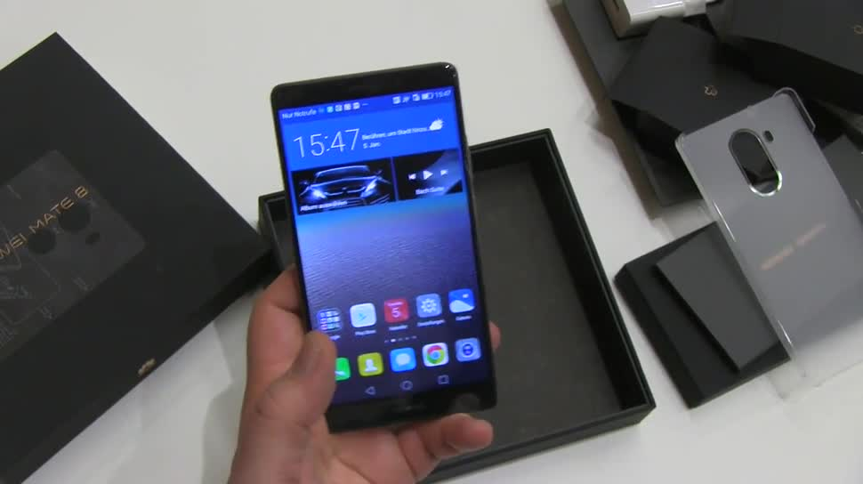 Smartphone, Android, Huawei, Ces, CES 2016, Mate 8