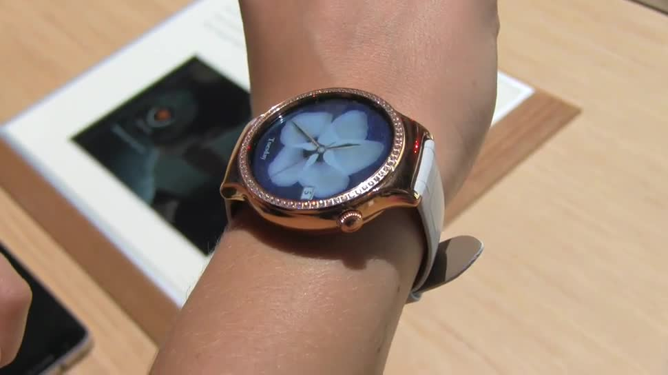 Android, Huawei, smartwatch, Ces, Uhr, CES 2016, Huawei Watch, Swarowski
