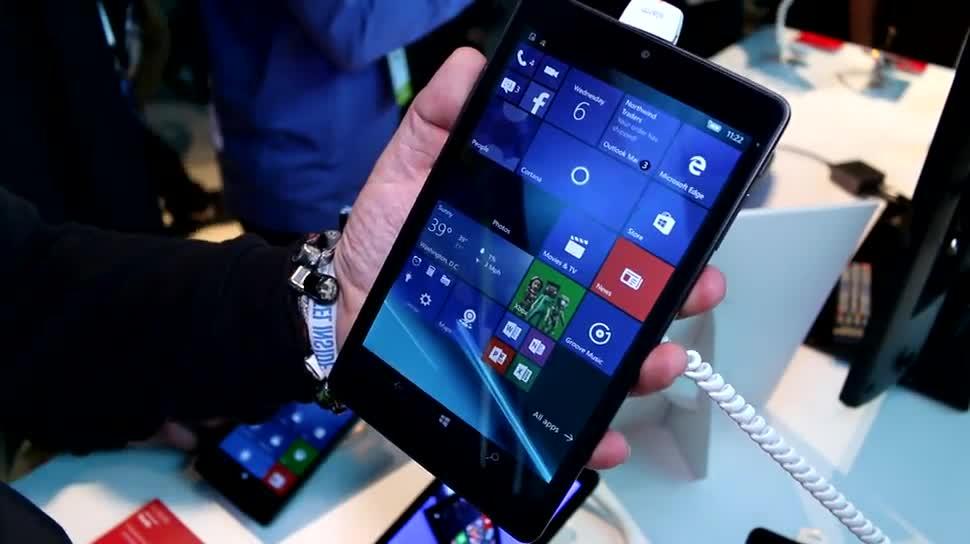 Windows 10, Tablet, Windows 10 Mobile, Ces, Alcatel, CES 2016, Alcatel One Touch, Alcatel One Touch Pixi 3