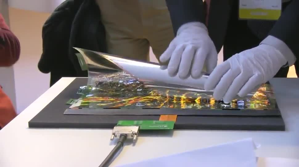 LG, Ces, OLED, CES 2016, flexibles Display
