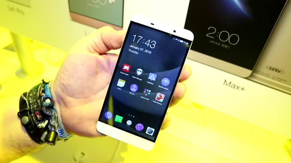 Smartphone, Android, Hands-On, Ces, Hands on, CES 2016, LeTV, LeTV Le 1 Pro