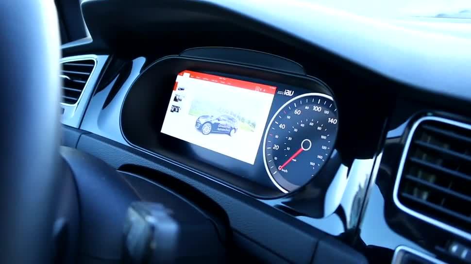 Microsoft, Smartphone, Display, Lumia, Auto, Cortana, Sprachsteuerung, Selbstfahrendes Auto, Powerpoint, Continuum, USB Type-C, Microsoft Cortana, Display Dock, Microsoft Display Dock, IAV, IAV Automotive, Highly Automated Driving
