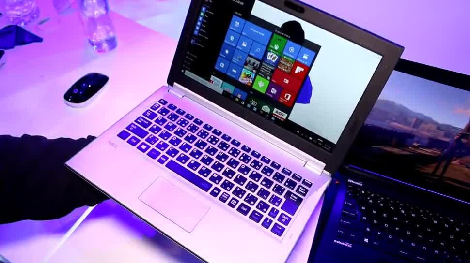 Windows 10, Tablet, Ces, 2-in-1, CES 2016, Nec, Lavie Hybrid Zero