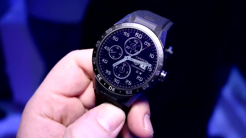 smartwatch, Ces, Smart-Watch, CES 2016, TAG Heuer, Tag Heuer Connected