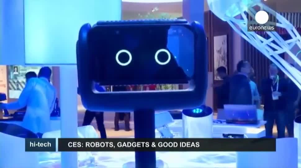 Ces, Roboter, Messe, EuroNews, CES 2016, Gadgets, Tee, Ski, Teforia, In&Motion, Uraniom