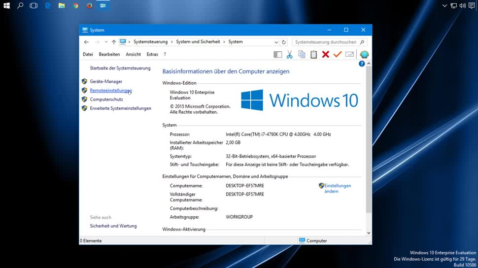 how to remote desktop win 10