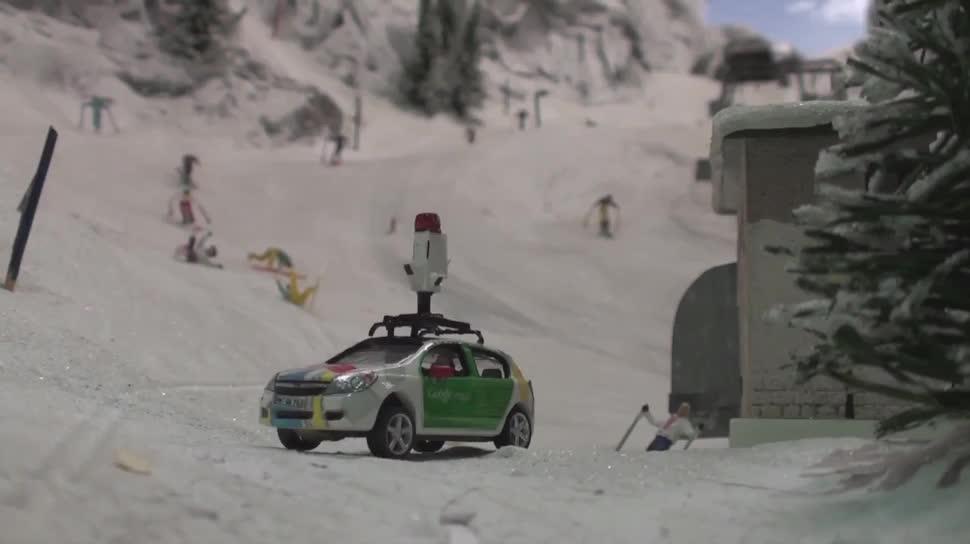Google, Street View, Hamburg, Miniatur Wunderland, Modelleisenbahn