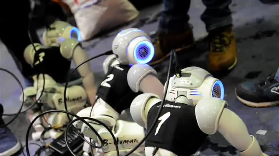 Roboter, Messe, München, Dpa, Make Munich