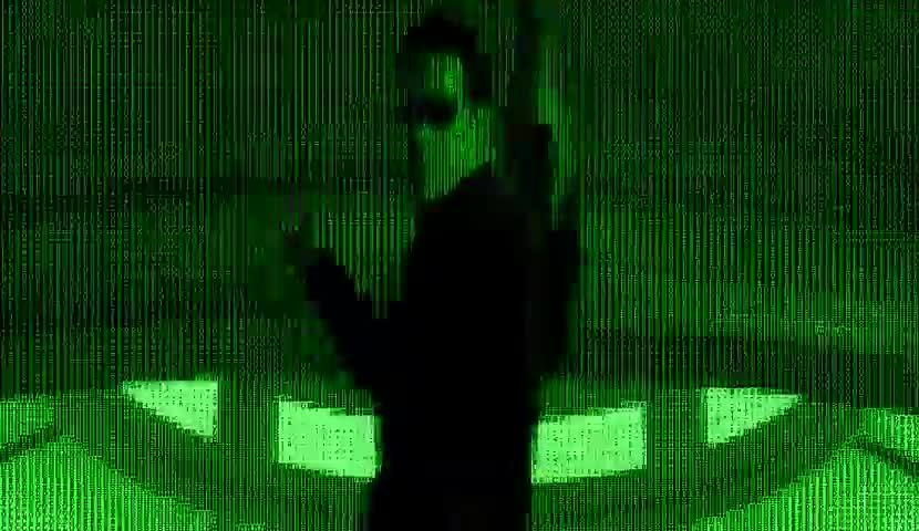 Film, The Matrix, Matrix, ASCII