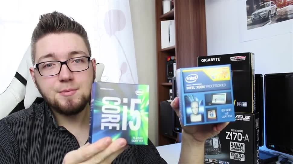 Intel, Prozessor, Cpu, Zenchilli, Zenchillis Hardware Reviews, Core i5, Xeon E3