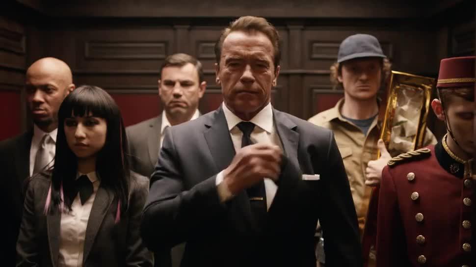 Super Bowl, Super Bowl 2016, Arnold Schwarzenegger, Mobile Strike, Epic War