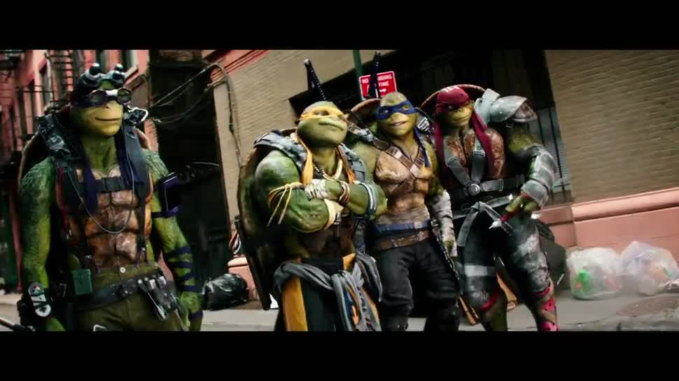 Werbespot, Kinofilm, Super Bowl, Super Bowl 2016, Teenage Mutant Ninja Turtles, Out of the Shadows, Turtles, Teenage Mutant Ninja Turtles 2