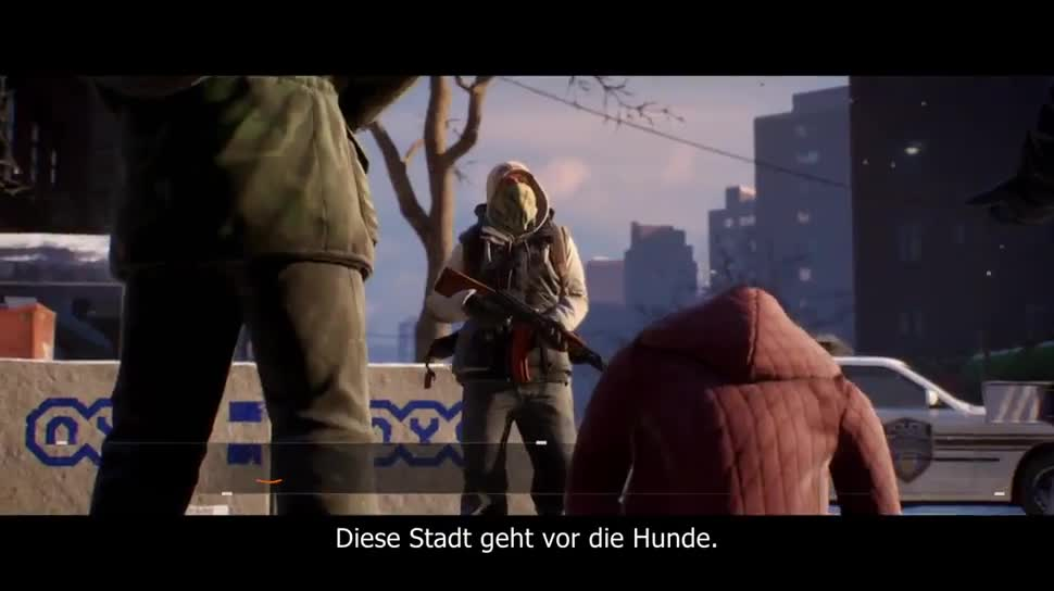 Trailer, Ubisoft, actionspiel, Tom Clancy's The Division, The Division