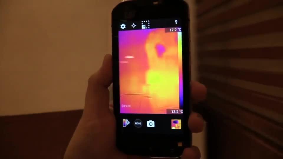 Smartphone, Android, NewGadgets, Wärmebildkamera, Caterpillar, Cat S60