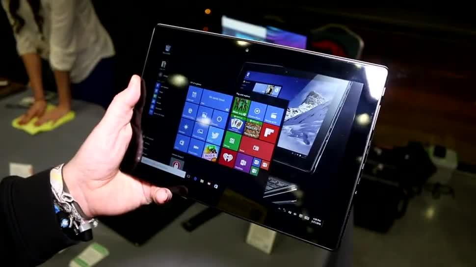 Tablet, Lenovo, Mwc, Mwc 2016, Miix 310