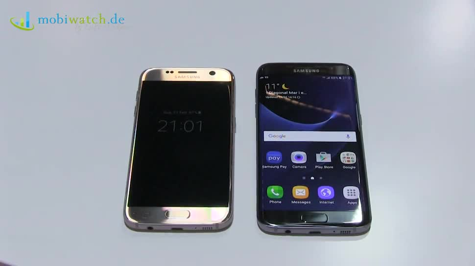 Smartphone, Android, Samsung, Hands-On, Mwc, Lutz Herkner, Mwc 2016, Samsung Galaxy S7, Galaxy S7, Samsung Galaxy S7 Edge, Galaxy S7 Edge, S7