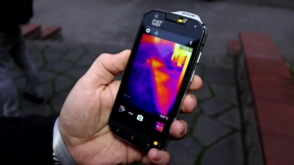Smartphone, Android, Mwc, Mwc 2016, Wärmebildkamera, Cat S60