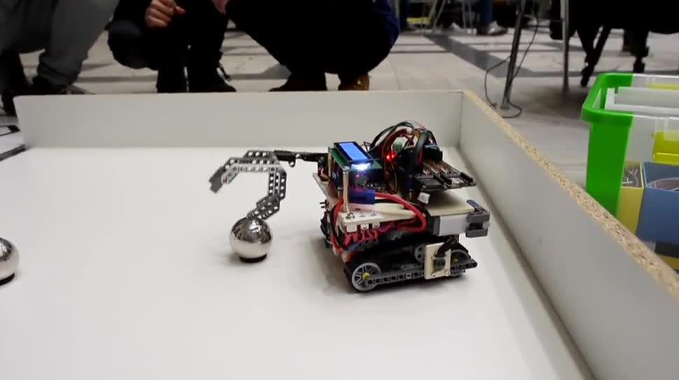 Roboter, Dpa, Turnier, Robocup, RoboCup Junior 2016, RoboCup Junior