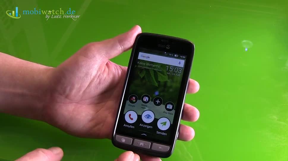 Smartphone, Android, Lutz Herkner, Senioren, Doro, Doro 8031