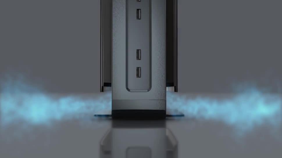 Pc, Desktop, lüfterlos, Compulab, Airtop