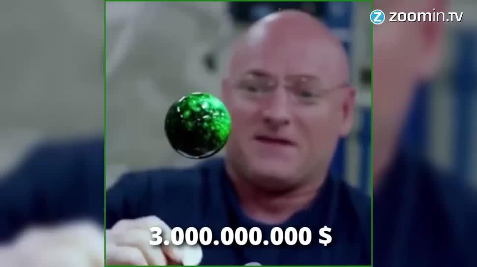 Forschung, Zoomin, Weltraum, Raumfahrt, Iss, Astronaut, Scott Kelly