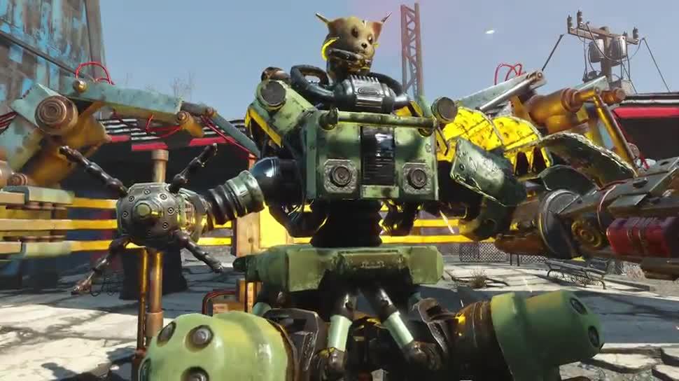Trailer, Rollenspiel, Dlc, Bethesda, Fallout, Fallout 4, Automatron